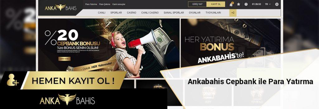 Ankabahis Cepbank ile Para Yatırma