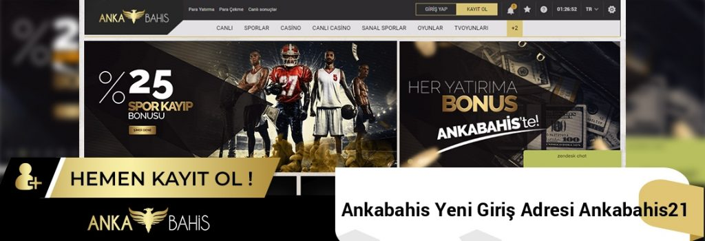 Ankabahis Yeni Giriş Adresi Ankabahis21