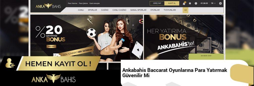 Ankabahis Baccarat Oyunlarına Para Yatırmak Güvenilir Mi