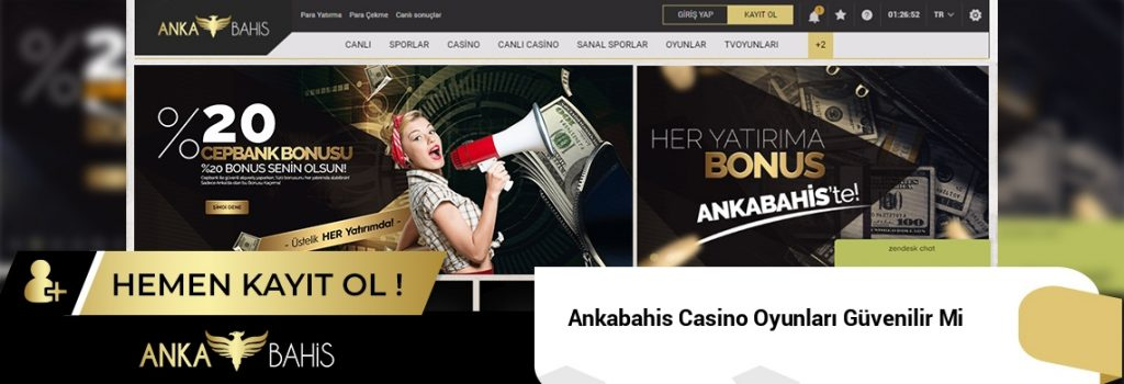Ankabahis Casino Oyunları Güvenilir Mi