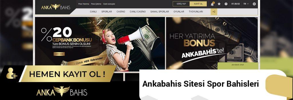 Ankabahis Sitesi Spor Bahisleri